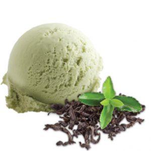 (105) groene thee ijs