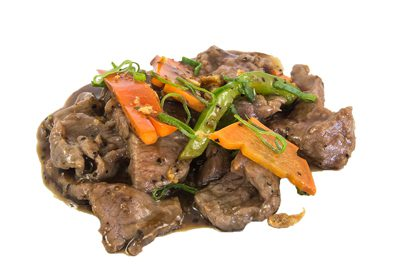 (75) Black Pepper Beef
