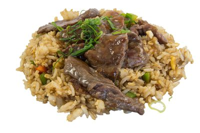 (93) Beef Teriyaki Rice